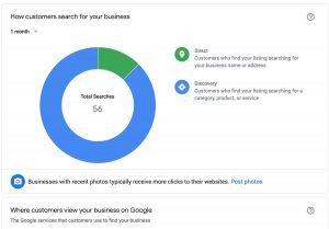 Insights - Fitur-fitur Google My Business
